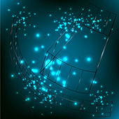 Technologie abstraite bordée arrière-plan du modèle pour la conception web. illustration vectorielle d'eps10 texture — Vecteur