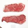 Sirloin steaks — 图库照片