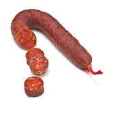 Chorizo De Pueblo sausage — Stock Photo