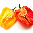 Stock Photo: Bonnet chilli pepper