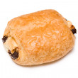 Chocolate french croissant - Stock Photo