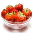 Royalty-Free Stock Photo: Bowl of strawberry