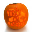 Halloween pumpkin Lantern — Stock Photo