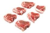 Lammkotletter — Stockfoto