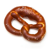Rock salt pretzel — Stock Photo