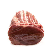 Haunch of raw venison — Stock Photo