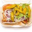 Stock Photo: Chicken kebab