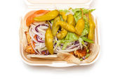 Chicken kebab — Stock Photo