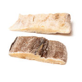 Pieces of salt cod fish  — Stock Photo