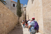 Walk on Jerusalem. — Stock Photo
