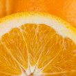 Royalty-Free Stock Photo: Halved orange