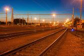 铁路站 — 图库照片