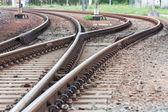 Curve Track — Stock Photo