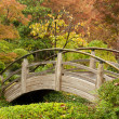 Japanese-style Arch Bridge - Foto Stock
