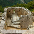 Temple of the Sun at Machu Picchu — Stock Photo