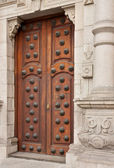 Doors to the Archbishop — Stock Photo