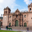 图库照片: Cathedral of Santo Domingo, Cusco, Peru