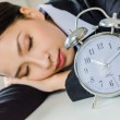Young business women sleeping in office — Stock Photo #33060453