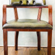 Stock Photo: Old vintage chair