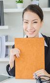 деловые женщины при исполнении служебных обязанностей — Стоковое фото
