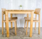 テーブル ・椅子 — ストック写真