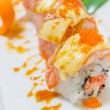 Stock Photo: Sushi in white dish