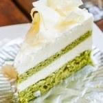 White chocolate cake — Stock Photo #33104317