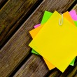 Color paper note — Stock Photo #33109499