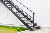 Metal Staircase — Stock Photo