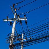 Electric post — Stock Photo