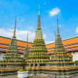 Stock Photo: Architecture in the temple of thailand