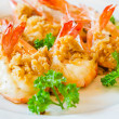 Stock Photo: Prawn garlic shrimp
