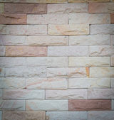 Stone brick wall texture for backgrounds. — Stock Photo