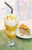 Karamel kahve — Stok fotoğraf