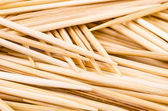 Close up on toothpichs — Stock Photo
