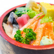 Japanese sashimi — Stock Photo