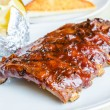 Barbecue pork spareribs — Stock Photo #33151407