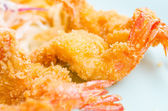 Fried shirmps — Stock Photo