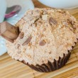 Choco cupcake — Stock Photo