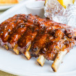 Barbecue pork spareribs — Stock Photo #33162727