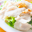 Poached fish — Stock Photo