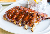 Barbecue pork spareribs — Stock Photo