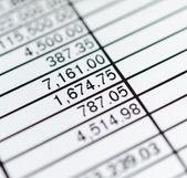 Paper chart — Stock Photo