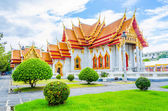 Benchamabophit temple landmark of bangkok Thailand — Stock Photo