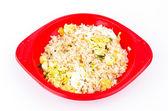 Fried rice crab — Stock Photo