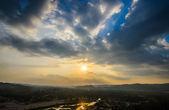 Zachód słońca — Zdjęcie stockowe