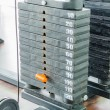Weight plates — Stockfoto #33212299