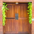 Wood Door — Stock Photo