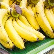 Banana in local street market — Stock Photo