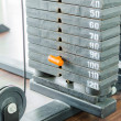 Weight plates — Stockfoto #34788463